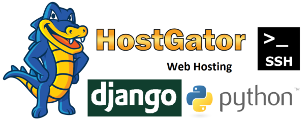 How to install Django on a Hostgator shared hosting